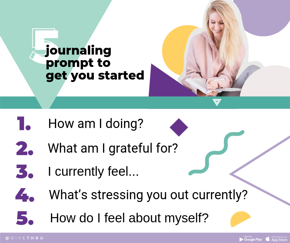 5 Journaling Prompts To Get You Started